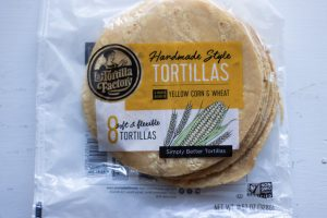 La Tortilla Factory Tortillas in the package
