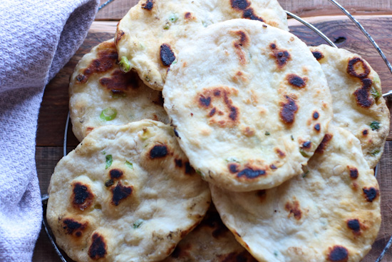 Scallion Flatbread
