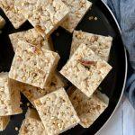 Brown Butter Gingersnap Rice Krispie Treats